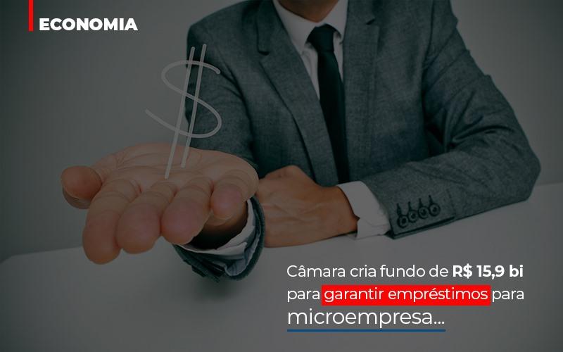 Camara Cria Fundo De Rs 15 9 Bi Para Garantir Emprestimos Para Microempresa Abrir Empresa Simples - Gestão Azul