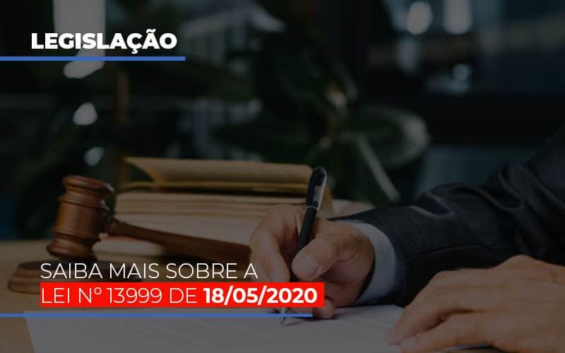 Lei N 13999 De 18 05 2020 - Gestão Azul