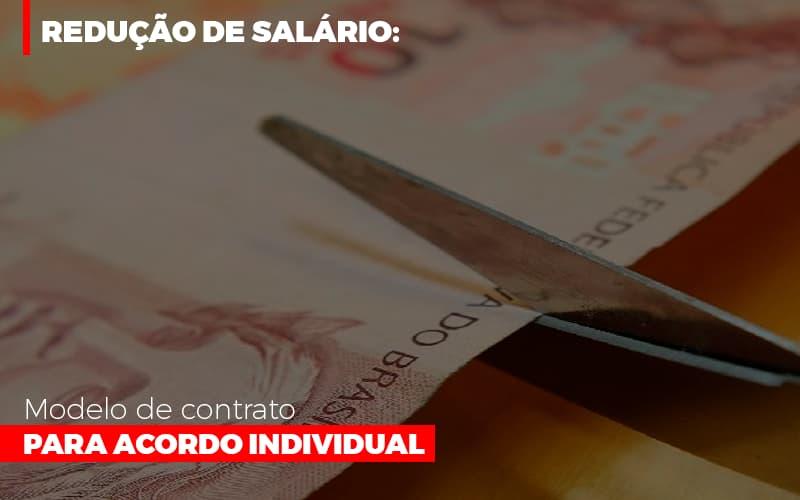 Reducao De Salario Modelo De Contrato Para Acordo Individual - Gestão Azul